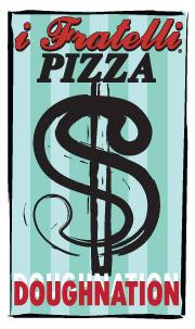 i Fratelli Pizza DoughNation Logo