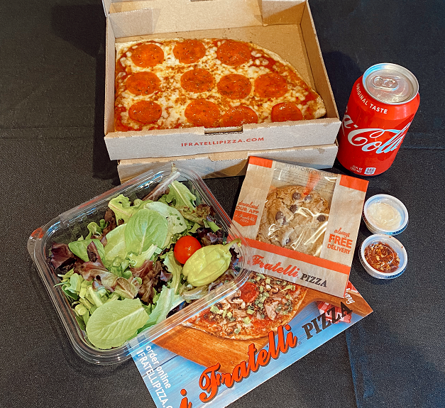 Austin Pizza Lunch Combo